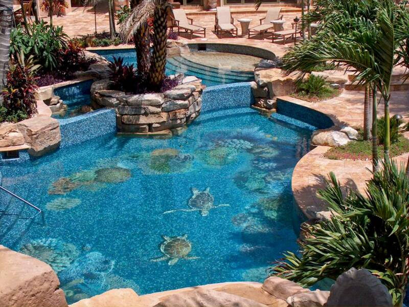 About rock star waterfall custom designers and builders for Pool design classes